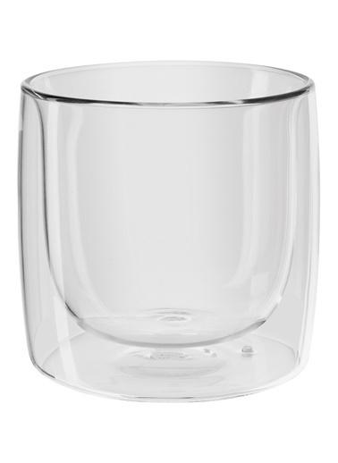 Zwilling Çift Camlı 2'Li Viski Bardağı - 266 ml Renksiz